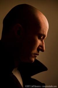 Jeff Navarro self-portrait